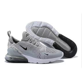 89ec2fcbc3 Volta As Aulas Tenis Novo - Nike Air Max para Masculino Cinza escuro ...