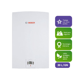 Calentador Bosch 30l World Ii-therm 8000 Gas Natural Premium