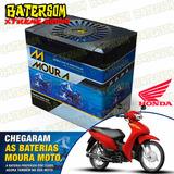 Bateria Moura Moto 3ah Honda Biz 100cc