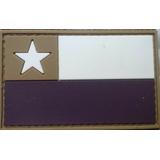 Bandera Chile Pvc Para Airsoft, Militar Y Outdoors