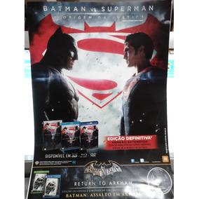 Pôster Batman Vs Superman - A Origem Da Justiça - 21 X 30 Cm