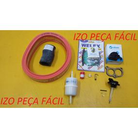 Reparo Carburador 2e+filtros+desaf+mang Coletor Monza/kadett