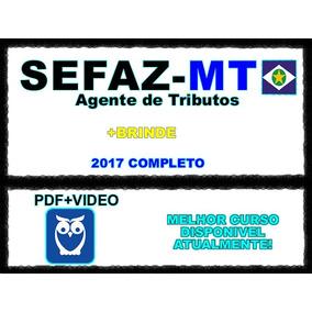 Sefaz-mt - Agente De Tributos Estaduais