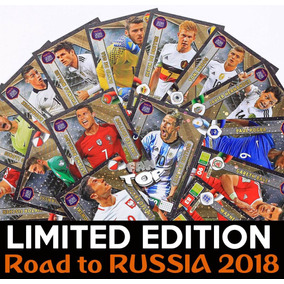 Cards Limiteds Road World Cup Russia De 2018 - Completo