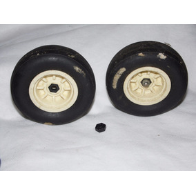 Roda Maximus Dianteira Par Estrela Brinquedo Antigo Nº002