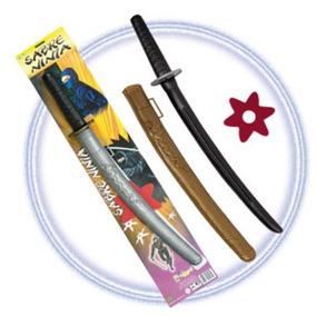 Sabre Espada Samurai Ninja Brinquedo 52cm Infantil Fantasia