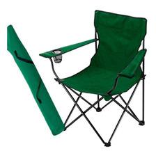 Sillon Director Plegable Camping + Funda + Porta Vaso