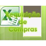Requisição De Compras - Excel Planinhas Avançadas