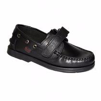 Zapatos Náuticos Colegial Marcel Cuero34/41 Niz´s Calzados