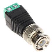 Conector Plug Balun Bnc Macho Con Bornera Cctv Camaras X10