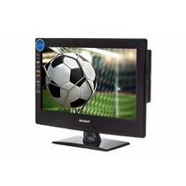 Tv Digital+dvd 15 Led 12 V Onibus Trailer Caminhao Barco 12v