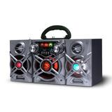 Equipo De Música Portátil Con Batería Recargable Karaoke Go!