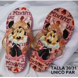 Sandalia Chola Cotiza Para Niña Minnie Hello Kitty Princesa