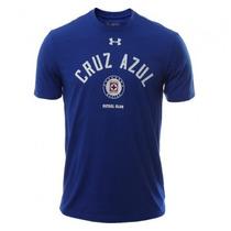 Cruz Azul Under Armour Playera Color Azul De Adulto Original