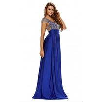 Sexy Elegante Vestido Largo Noche Fiesta Talla Extra 60809