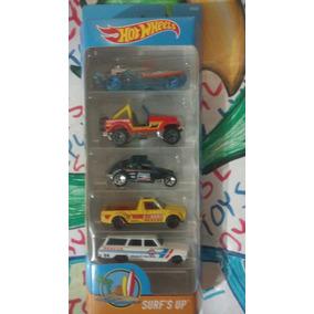 Hot Wheels 5 Pack Volkswagen Caddy Bettle Datsun E Lyly Toys