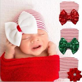 Gorro Para Bebe Recien Nacida Navideños