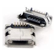 Jack Conector Carga Power Tablet Micro Usb V8 Kit 25un