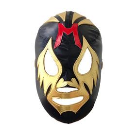 Mascara Mil Mascaras Negra Lucha Adulto - Deportes Martinez