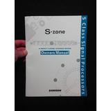 Manual S-zone Samson Mezclador Audio Procesador Señal 4zone