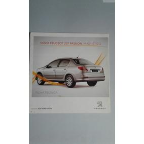 Folder Peugeot 207 Passion - Concessionária