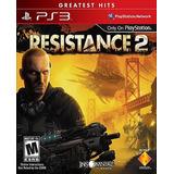 Resistance 2 Ps3 Playstation Nuevo Sellado Juego Videojuego