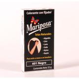Colorante Mariposa Pastilla Negro 601