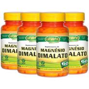 Magnésio Dimalato Puro 700mg 240 Cápsulas - Unilife