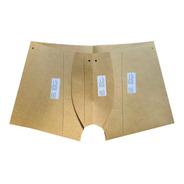 Kit Molde Cueca Boxer  E Slip + Calcinha Adulto E Infantil