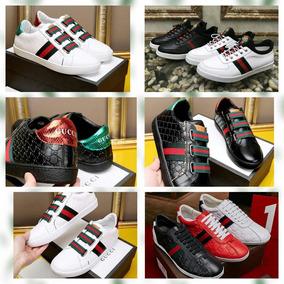 Zapato Gucci Casual De Cuero Size 38-45 (bajo Pedido)