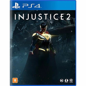 Injustice 2 Ps4 Portugues Br Midia Fisica