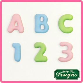 Mini Domed Alphabet / Mini Alfabeto Para Repostería