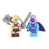 He-man Y Skeletor Amos Del Universo Motu Compatible Con Lego