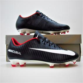 Chuteira Nike Mercurial Vapor X Fg Profissional Campo 9 - Chuteiras ... 9ebe0fe52a3b7