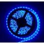 Fita Led 3528 Prova Dágua Rolo Com 5 Metros 12v Cor Azul