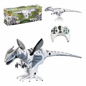 Dinossauro Robô Com Controle Remoto 40 Funções