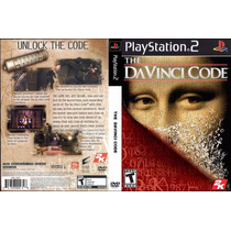 O Codigo Da Vinci - Playstation 2 - Frete Gratis - Ps2