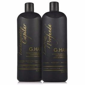 G-hair Inoar Kit Escova Progressiva Marroquina + Brinde