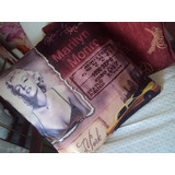 Funda O Almohadon Marilyn Monroe Color Diseño Exclusivo