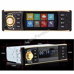 Stereo Pantalla 4.1 , Bluetooth + Comando Manual,