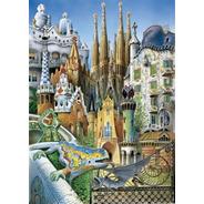 11874 Gaudi Collage Rompecabezas Mini 1000 Piezas Educa