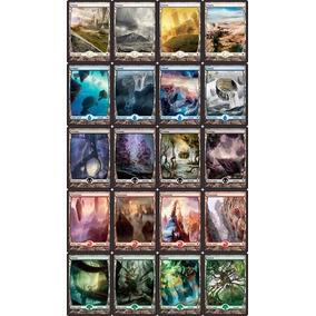 Terrenos Magic The Gathering Full Arte Battle For Zendicar
