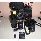 Camara Nikon D5000 Con Accesorios
