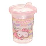 Vaso Con Pipeta Hello Kitty