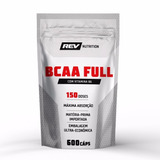 Bcaa Full Com Vitamina B6 - 600 Cápsulas - Rev Nutrition