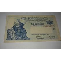 Billete - 50 Centavos - Ley 12962 - Año 1947