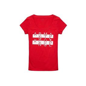 Remera Armani Exchange - Rojo 0128