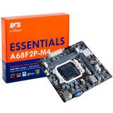 Tarjeta Madre Ecs A68f2p-m4 Socket Fm2+ Hdmi Usb 3.0 Audio