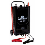 Carregador Bateria Automotivo 750amp Cd520 Worker Profi