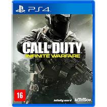 Call Of Duty Infinite Warfare Ps4 Cod Midia Fisica Português